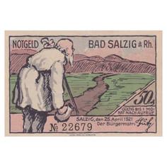 Bad Salzig, 50 Pfennig, 1921