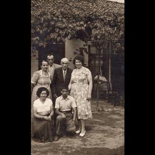 1940s Sanzoni Family in Edirne