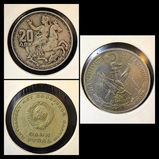 1950-1960s Coin Chronology of Vafiadis Family - a