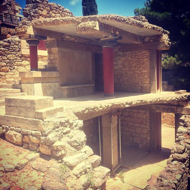 Knossos Sarayı / Girit