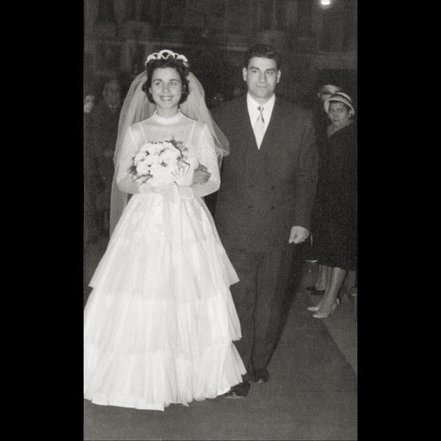 1910s Benito & Eudokia Sanzoni - Italian/Greek Wedding