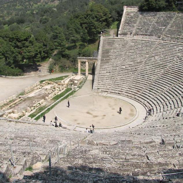 Tiyatro / Epidauros, Yunanistan