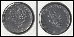 50 Lire - 1974