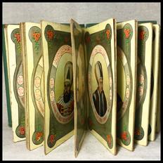 1910s Sultans of Ottoman Empire Postcard Book