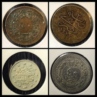 1850-1910s Coin Chronology of the Family