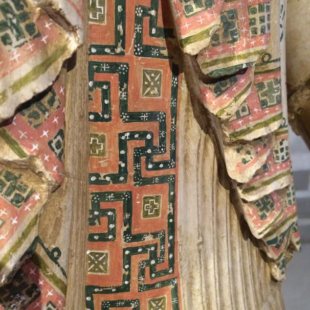 Antik Yunan Heykel Detayı / Gustavianum, Uppsala-İsveç