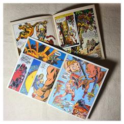 He-Man Mini Comics / Slave City & Dragon's Gift