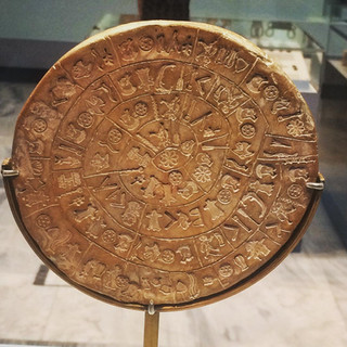 Phaistos Diski / Heraklion Arkeoloji Müzesi