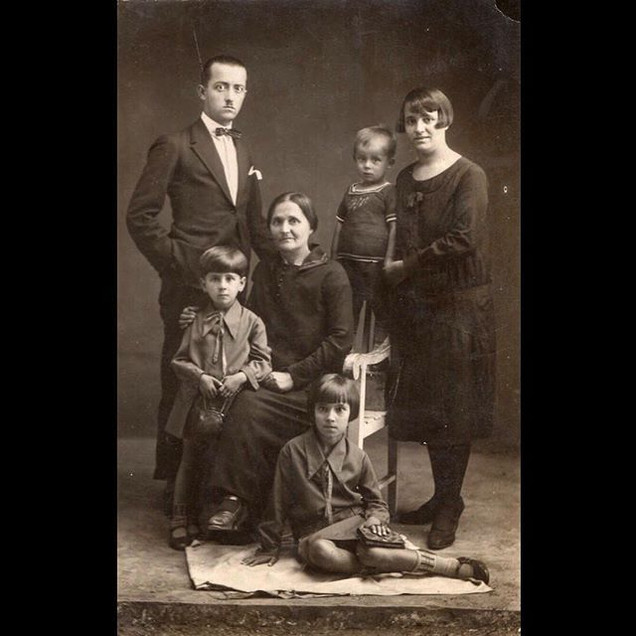 1920s Sanzoni and Stamatyadis Family