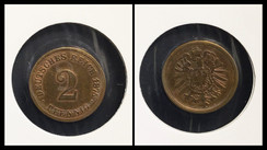 2 Pfennig - 1875