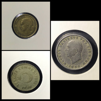 1940-1950s Coin Chronology of Vafiadis Family - b