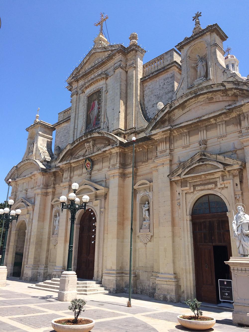 Rabat - Church - St.Pauls Grotto -2mi3