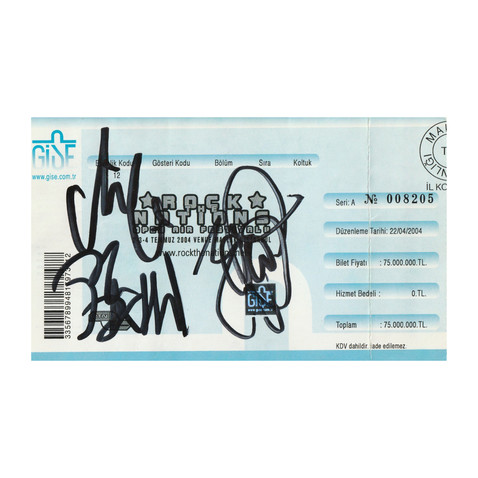 Rock The Nations - Signed by DESTRUCTION