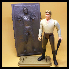HAN SOLO In Carbonite / In Carbonite Block