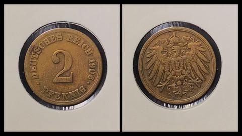 2 Pfennig - 1908