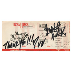 RockIstanbul - Signed by THE KILLS