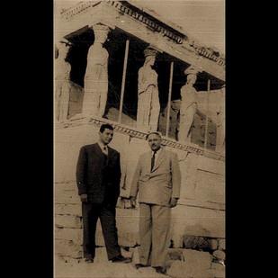 1950s Vafiadis Family in Acropolis