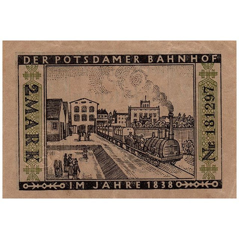 Berlin, 2 Mark, 1921