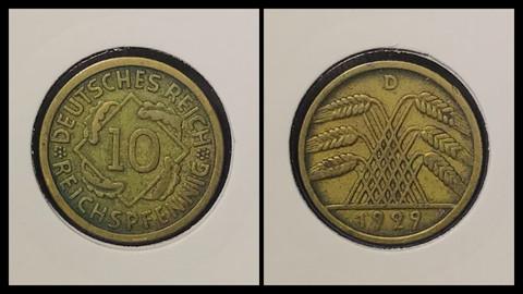 10 Reichspfennig - 1929