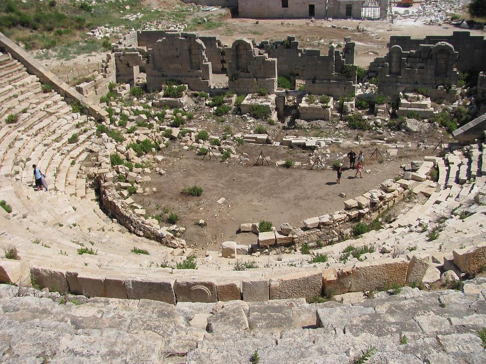 -Patara , Antik Tiyatro –