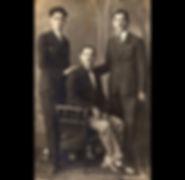 1930s The Vafiadis Gentlemen - Three of