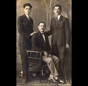 1930s The Vafiadis Gentlemen - Three of