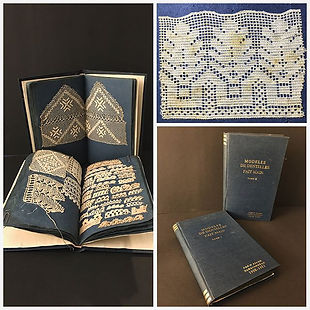 1900s to 1980s 'Lace Pattern Book' creat