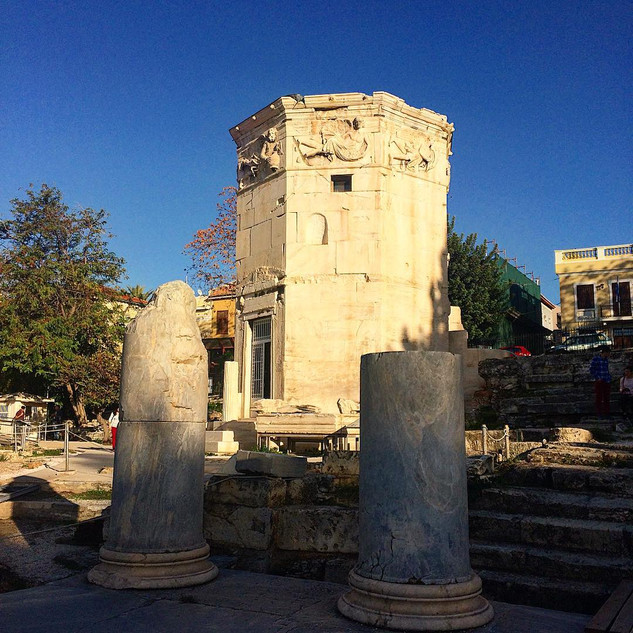Rüzgar Kulesi / Thiseio, Yunanistan