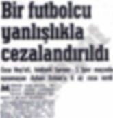 Ayhan Erman, Article, Newspaper, Sports, Football, Soccr, Futbol, Archieve