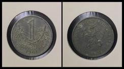 1 Koruna - 1941