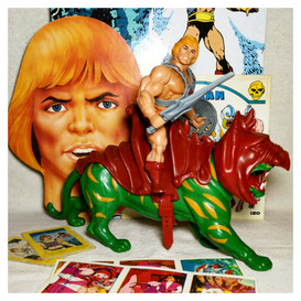 He-Man with Battle Cat