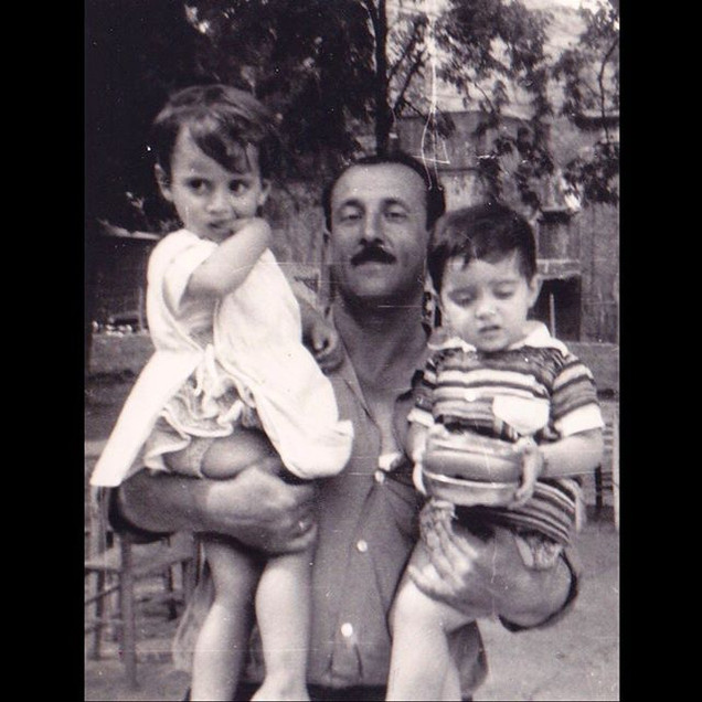 1960s Together with Grandfather