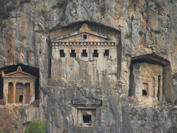 Rock Tombs of Dalyan