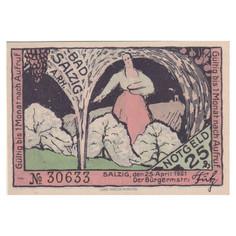 Bad Salzig, 25 Pfennig, 1921