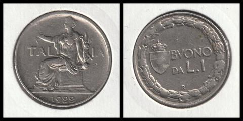 1 Lire - 1922