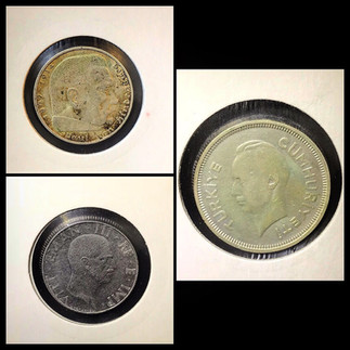 1930-1940s Coin Chronology of Vafiadis Family - b