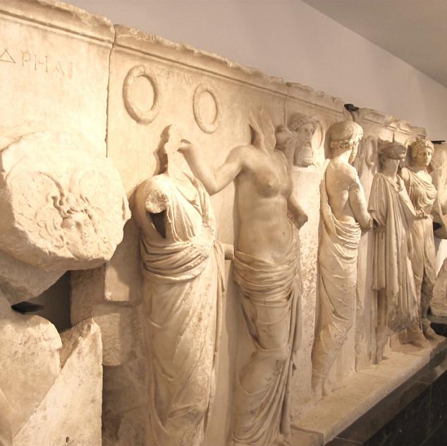 Kabartma Heykeller / Aphrodisias Müzesi