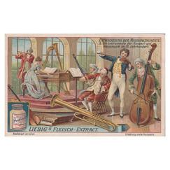 Entwickelung der Musikinstrumente