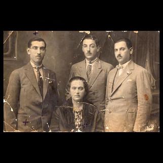 1940s Vafiadis Siblings - Nicolas Andriomenos & Fils.