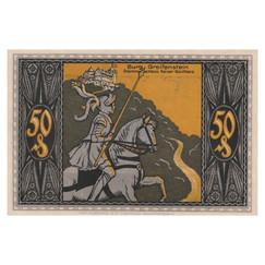 Bad Blankenburg, 50 Pfennig, 1922_Back