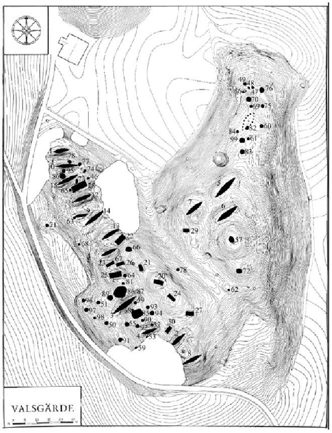 Valsgarde Map