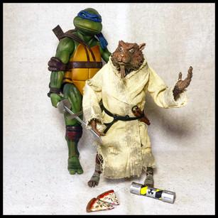 Splinter & Leonardo