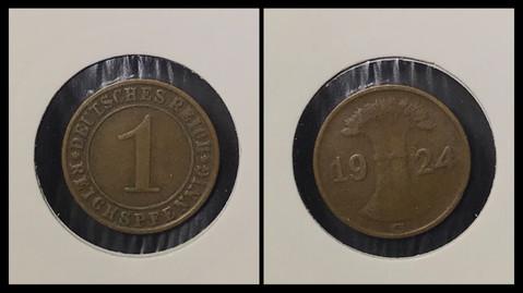 1 Reichspfennig - 1924