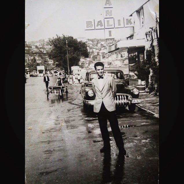 1960s Dimitrios Koulurgioti in Sariyer