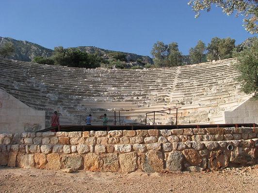 Kaş Antiphellos Antik Tiyatro