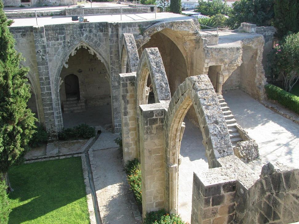 Kıbrıs Bellapais Manastırı 2mi3 Cyprus