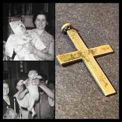 1950s Baptise Crucifix of Stavros Vafiadis