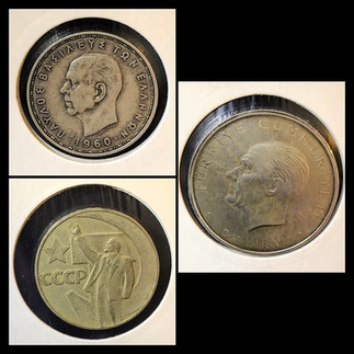 1950-1960s Coin Chronology of Vafiadis Family - b