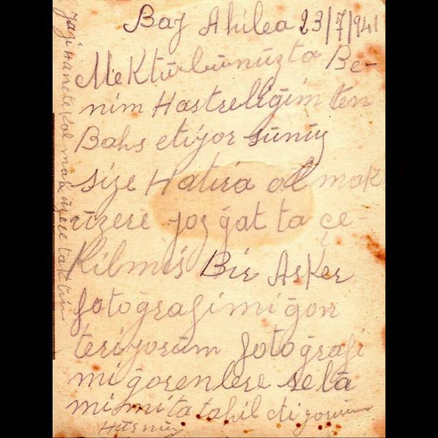1940s We were Soldiers : Hurmuzios & The Conscription of Twenty Classes, Yozgat - The Note