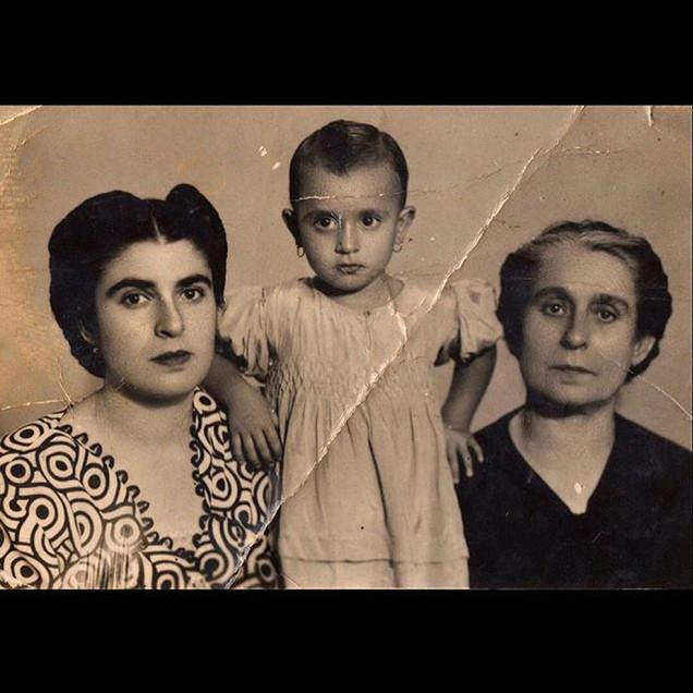 1940s Grandma, Aunt & The Nephew
